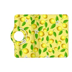 Lemon Pattern Kindle Fire Hd (2013) Flip 360 Case by Valentinaart