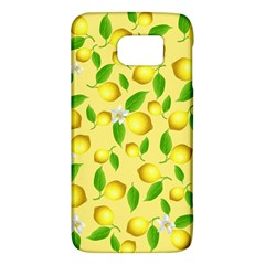 Lemon Pattern Galaxy S6 by Valentinaart