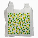 Lemon pattern Recycle Bag (One Side) Front