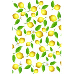 Lemon Pattern 5 5  X 8 5  Notebooks by Valentinaart