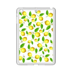 Lemon Pattern Ipad Mini 2 Enamel Coated Cases by Valentinaart