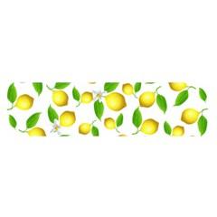 Lemon Pattern Satin Scarf (oblong) by Valentinaart