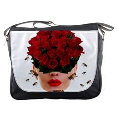 Beautiful Life Messenger Bags by Valentinaart