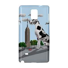Great Dane Samsung Galaxy Note 4 Hardshell Case by Valentinaart