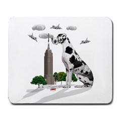 Great Dane Large Mousepads by Valentinaart