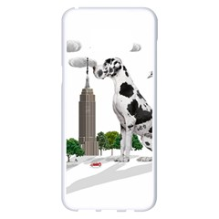 Great Dane Samsung Galaxy S8 Plus White Seamless Case by Valentinaart