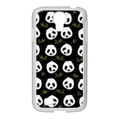 Panda Pattern Samsung Galaxy S4 I9500/ I9505 Case (white) by Valentinaart