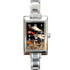 Optimism Rectangle Italian Charm Watch by Valentinaart