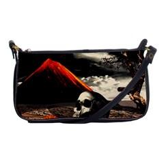 Optimism Shoulder Clutch Bags by Valentinaart