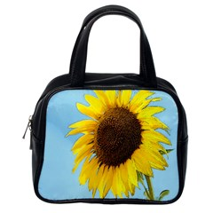 Sunflower Classic Handbags (one Side) by Valentinaart