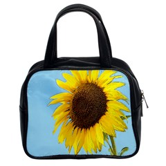 Sunflower Classic Handbags (2 Sides) by Valentinaart