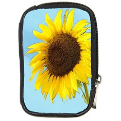 Sunflower Compact Camera Cases by Valentinaart