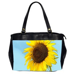 Sunflower Office Handbags (2 Sides)  by Valentinaart