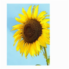Sunflower Small Garden Flag (two Sides) by Valentinaart