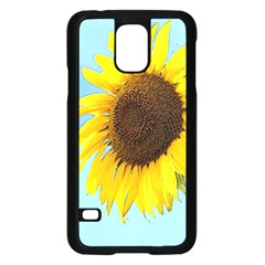 Sunflower Samsung Galaxy S5 Case (black)