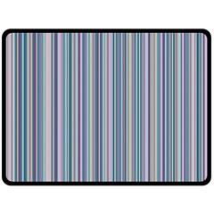 Lines Fleece Blanket (large)  by Valentinaart