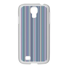 Lines Samsung Galaxy S4 I9500/ I9505 Case (white) by Valentinaart