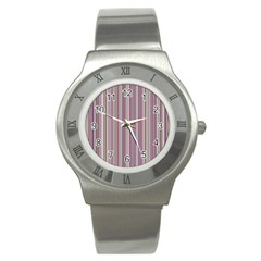 Lines Stainless Steel Watch by Valentinaart