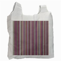 Lines Recycle Bag (one Side) by Valentinaart