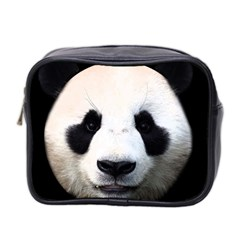 Panda Face Mini Toiletries Bag 2 Side by Valentinaart