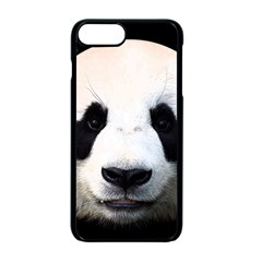 Panda Face Apple Iphone 7 Plus Seamless Case (black) by Valentinaart