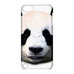 Panda Face Apple Ipod Touch 5 Hardshell Case With Stand by Valentinaart