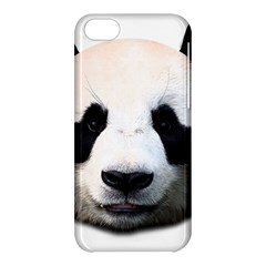 Panda Face Apple Iphone 5c Hardshell Case by Valentinaart