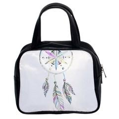 Dreamcatcher  Classic Handbags (2 Sides) by Valentinaart
