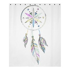 Dreamcatcher  Shower Curtain 60  X 72  (medium)  by Valentinaart