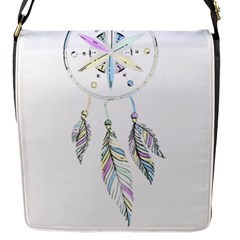Dreamcatcher  Flap Messenger Bag (s) by Valentinaart