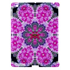 Fantasy Cherry Flower Mandala Pop Art Apple Ipad 3/4 Hardshell Case (compatible With Smart Cover) by pepitasart