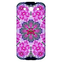 Fantasy Cherry Flower Mandala Pop Art Samsung Galaxy S3 S Iii Classic Hardshell Back Case by pepitasart