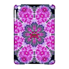 Fantasy Cherry Flower Mandala Pop Art Apple Ipad Mini Hardshell Case (compatible With Smart Cover) by pepitasart