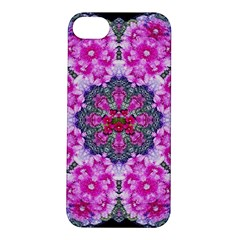 Fantasy Cherry Flower Mandala Pop Art Apple Iphone 5s/ Se Hardshell Case by pepitasart