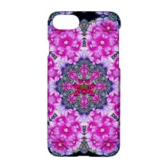 Fantasy Cherry Flower Mandala Pop Art Apple Iphone 7 Hardshell Case by pepitasart