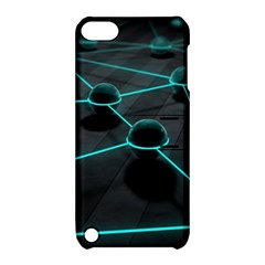 3d Balls Rendering Lines  Apple Ipod Touch 5 Hardshell Case With Stand by amphoto