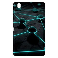 3d Balls Rendering Lines  Samsung Galaxy Tab Pro 8 4 Hardshell Case by amphoto