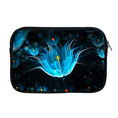 Abstraction Light Neon Glitter  Apple Macbook Pro 17  Zipper Case by amphoto