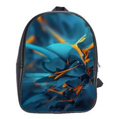 Color Form Light Line  School Bag (xl) by amphoto