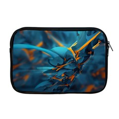 Color Form Light Line  Apple Macbook Pro 17  Zipper Case by amphoto