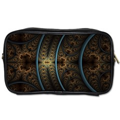 Lines Dark Patterns Background Spots  Toiletries Bags by amphoto