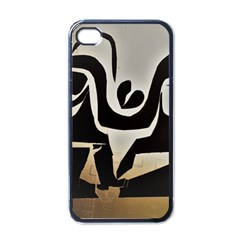 With Love Apple Iphone 4 Case (black) by MRTACPANS