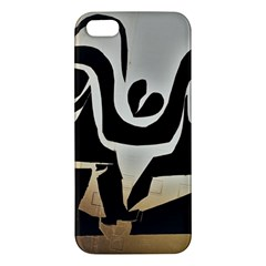 With Love Apple Iphone 5 Premium Hardshell Case by MRTACPANS