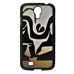 With Love Samsung Galaxy S4 I9500/ I9505 Case (black) by MRTACPANS
