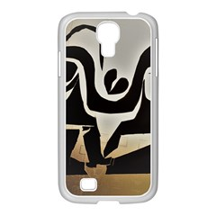 With Love Samsung Galaxy S4 I9500/ I9505 Case (white) by MRTACPANS