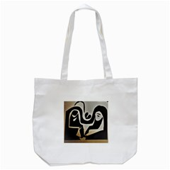 With Love Tote Bag (white) by MRTACPANS