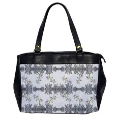 Floral Collage Pattern Office Handbags by dflcprints