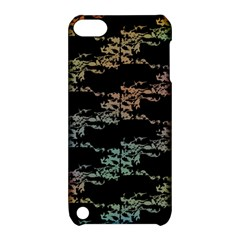 Birds With Nest Rainbow Apple Ipod Touch 5 Hardshell Case With Stand by ssmccurdydesigns