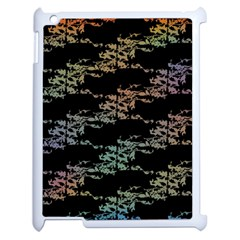 Birds With Nest Rainbow Apple Ipad 2 Case (white) by ssmccurdydesigns