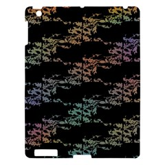 Birds With Nest Rainbow Apple Ipad 3/4 Hardshell Case by ssmccurdydesigns